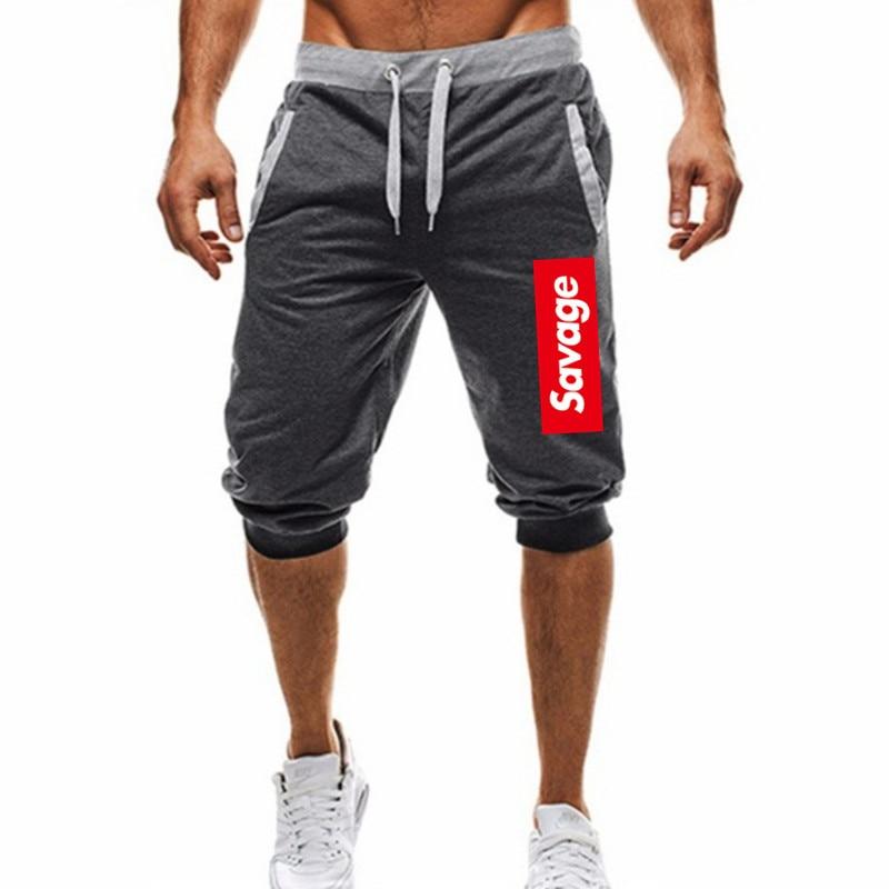 2020 New Mens Shorts Fitness Casual Drawstring Short Pants High Quality Shorts Men's Pocket Sports Shorts Hot Sale
