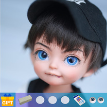 Doll BJD Shuga Fairy Ahan elf ear 1/6 cosmetics dolls fullset complete professional makeup Toy Gifts movable joint doll
