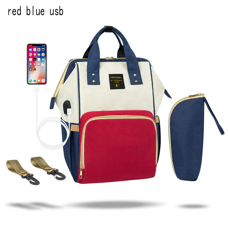 Red blue usb