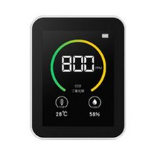 Home Air Quality Monitor Indoor Lcd Digital co2 Detector Real Time Monitoring Air Quality Meters Temperature Humidity Tester