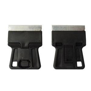 Image 5 - 5 stks Mini Hand Scheermes Schraper met Carbon Stalen Messen Oude Film Glas Lijm Verwijderen Mes Mobiele Telefoon Tablet Screen Cleaner 5E18