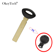 OkeyTech For BMW Mini Cooper Remote Control Smart Card Small Key Replacement Blade Emergency