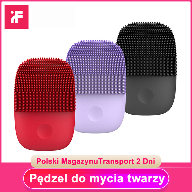 Xiaomi Mijia Inface Facial Cleansing Brush Upgrade Version Electric Sonic Face Brush Deep Cleaning IPX7 Waterproof 5 Modes