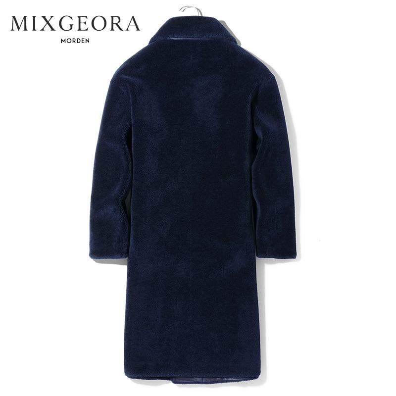 Winter Real Fur Coat Men Clothes 2020 Sheep Shearling Coat Winter Jacket Man Long Luxury Natural Wool Jackets A1800092
