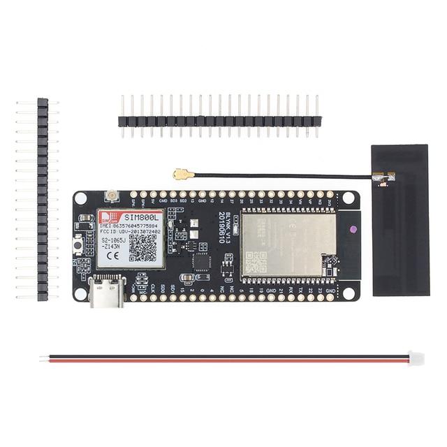 TTGO T Gọi V1.3 ESP32 Không Dây Mô Đun GPRS Ăng Ten SIM SIM800L Mô Đun