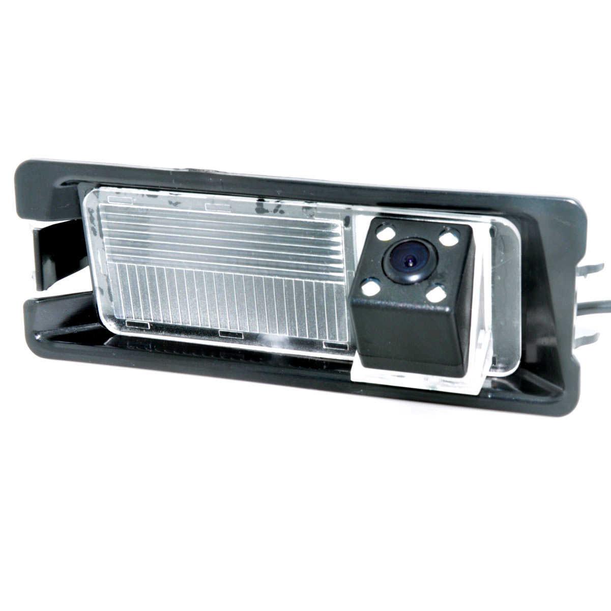 CCD CCD gece 4 led özel araba dikiz dikiz ters geri görüş kamerası Nissan mart Renault Logan Renault Sandero