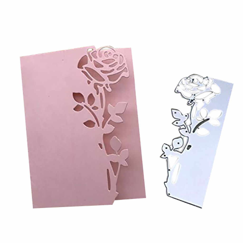 Metal Flower Cutting Dies Stencil DIY Scrapbooking Embossing Photo Album Paper Invitation Card Decoration Craft Party Gifts