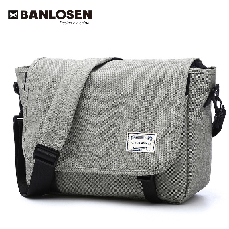 New 2019 Men Messenger Bags Men's Fashion Business Travel Shoulder Bags Female Canvas Briefcase Men Crossbody Bag Unisex Handbag