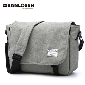 Image 1 - New 2019 Men Messenger Bags Mens Fashion Business Travel Shoulder Bags female Canvas Briefcase Men Crossbody Bag Unisex Handbag