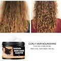 Увлажняющий крем для укладки волос с кудрявыми волосами, эластичный крем для ухода за волосами, долговечный питательный крем для кожи голов...