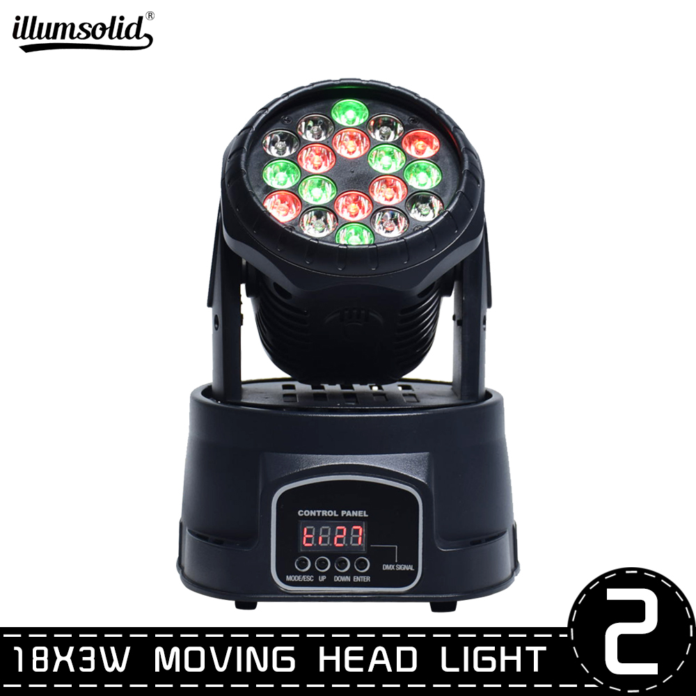 Moving Head Led Dmx Stage Light Effect Lights For Family Dance, Bar, Christmas Wedding Show Club 2pcs/lot