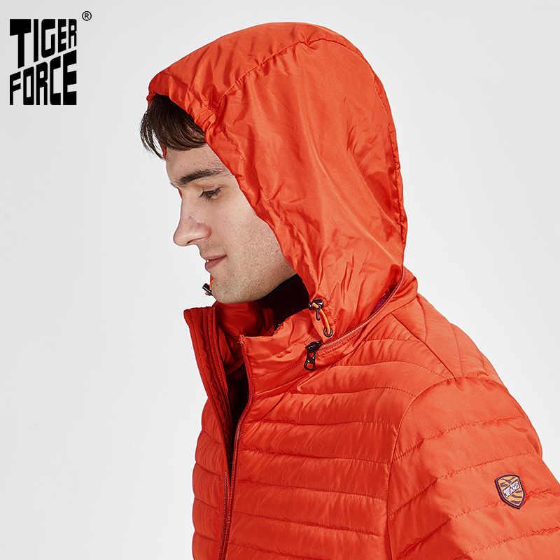 TIGER KRAFT 2020 Neue Ankunft Jacken Männlichen Hohe Qualität Frühling Herbst Zipper Unten Jacke Für Männer Mantel Casual Oberbekleidung 50633