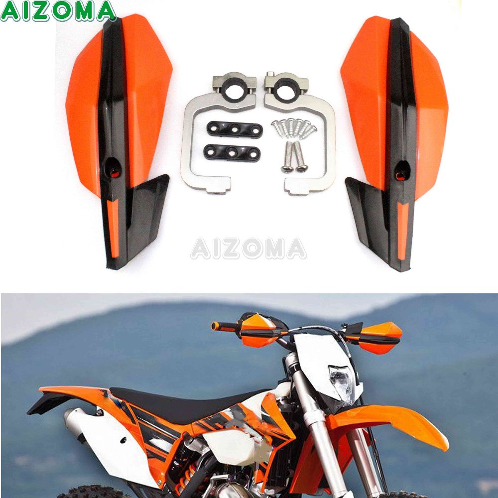 """7//8/"""" Motorcycle Brush Handguard Cover Dirt Bike Hand Guard For 300 SX EXC XCF XC"""