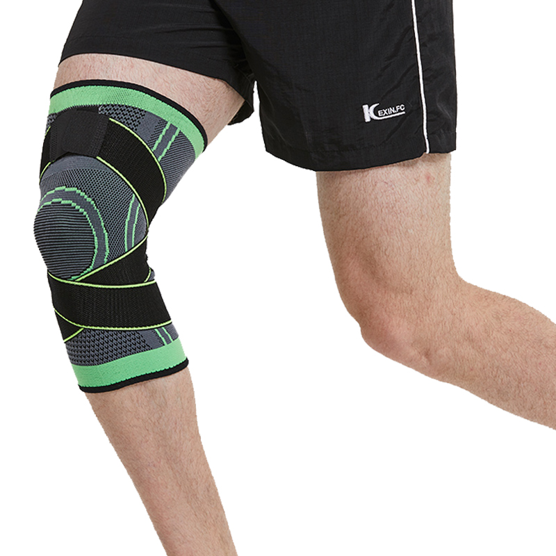 Kneepad Support Professional Protector Sports Knee Pads Breathable Bandage Knee Brace Basketball Tennis Cycling