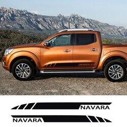 Calcomanías para decoración de película de vinilo para automóviles Nissan NAVARA accesorios de sintonización de coches DIY