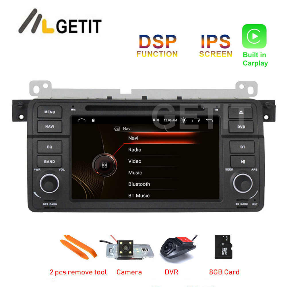 Costruito in CARPLAY DSP Android 10 Car Stereo DVD Player GPS Radio per BMW E46 M3
