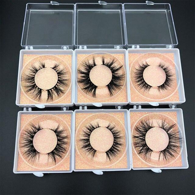 Custom box MIKIWI 24 Styles 100% handmade natural thick  long false eyelash 5D soft dramatic Eye lashes high volume makeup tools 5