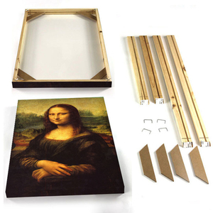 Home Picture Frames Wall Photo Frame Wood Poster Frame DIY Wooden Canvas Frame For Painting Oil Wall Art Cadre Photo Photoframe