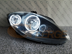 Image 5 - For SEAT Altea 2004 2015 headlight Excellent Ultra bright CCFL Angel Eyes Halo Rings kit car Accessories