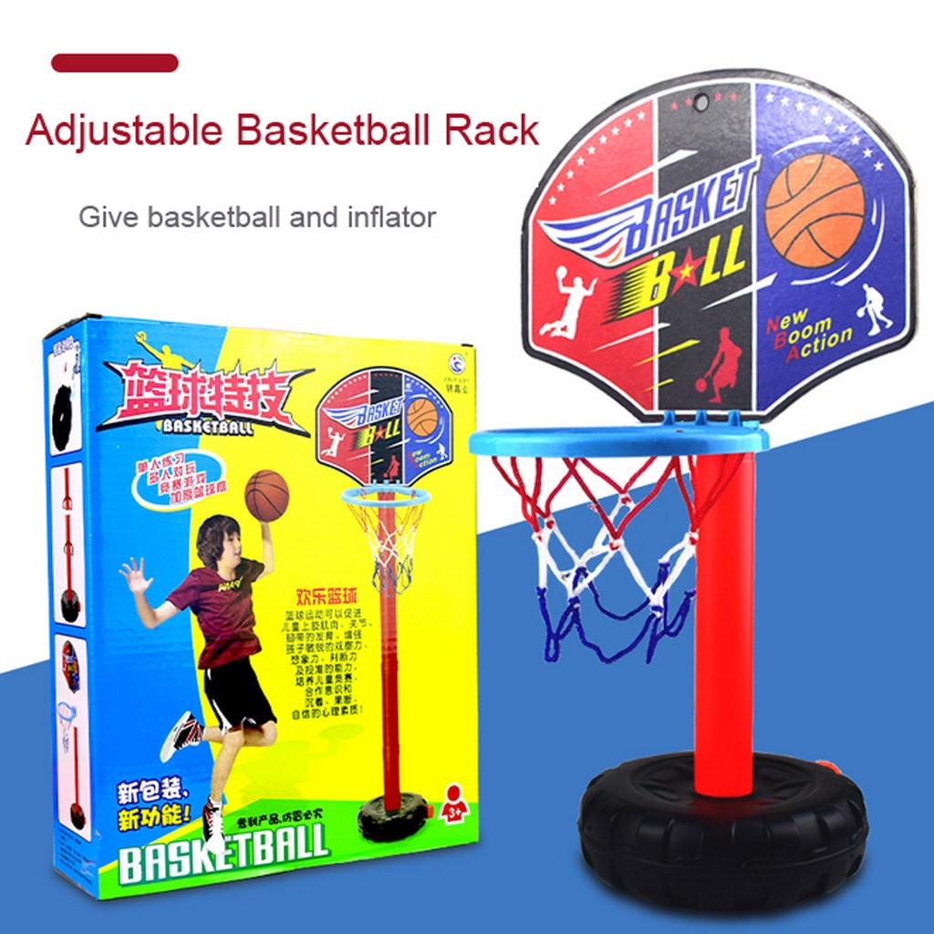 Children Kids Basketball Set Shoot Hoop Backboard Basket Ball Outdoor Indoor Toy