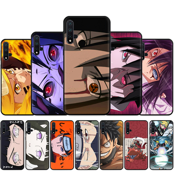 New Japan Anime Naruto Silicone Phone Case For Huawei Nova Lite 2 Lite 2i 3 3i 4 4E 5i 5T 7 7SE Back Cover image