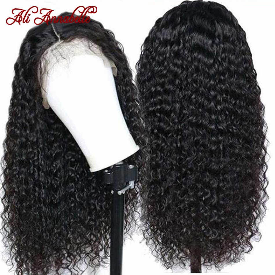 Парики из натуральных волос на кружеве с волосами младенца бразильские кудрявые человеческие волосы парик 13*6 человеческие волосы парики 180% 150% плотность кудрявый парик