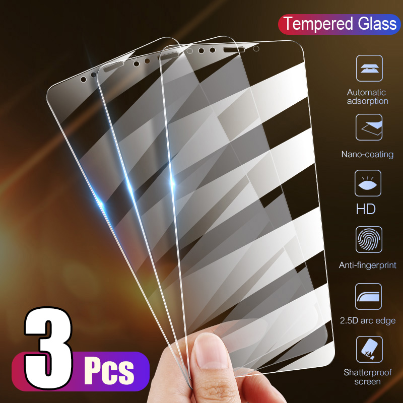 Glass Screen-Protector Full-Cover 6s-Plus XR iPhone X for XS Max 12 The 5S SE 11 Pro