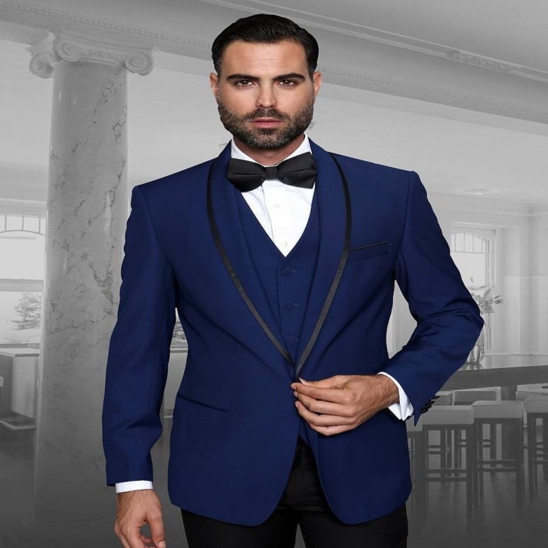 Italian Men Suit Slim Fit Wedding Suits Groom Suit Tuxedos 3 Pieces Costard Homme Mariage Costume Homme Mariage