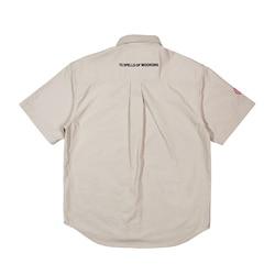 2019 algodón Oxford sólido para hombre y mujer camisas de manga corta de alta calidad para hombre moda de calle suelta camisa Casual