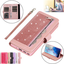 A21S A51 A71 A50 Leather Wallet Phone Case For Samsung Galaxy S20 Ultra S10 S9 S8 Plus S7 Edge Note 20 10 9 8 Etui Coque Cover