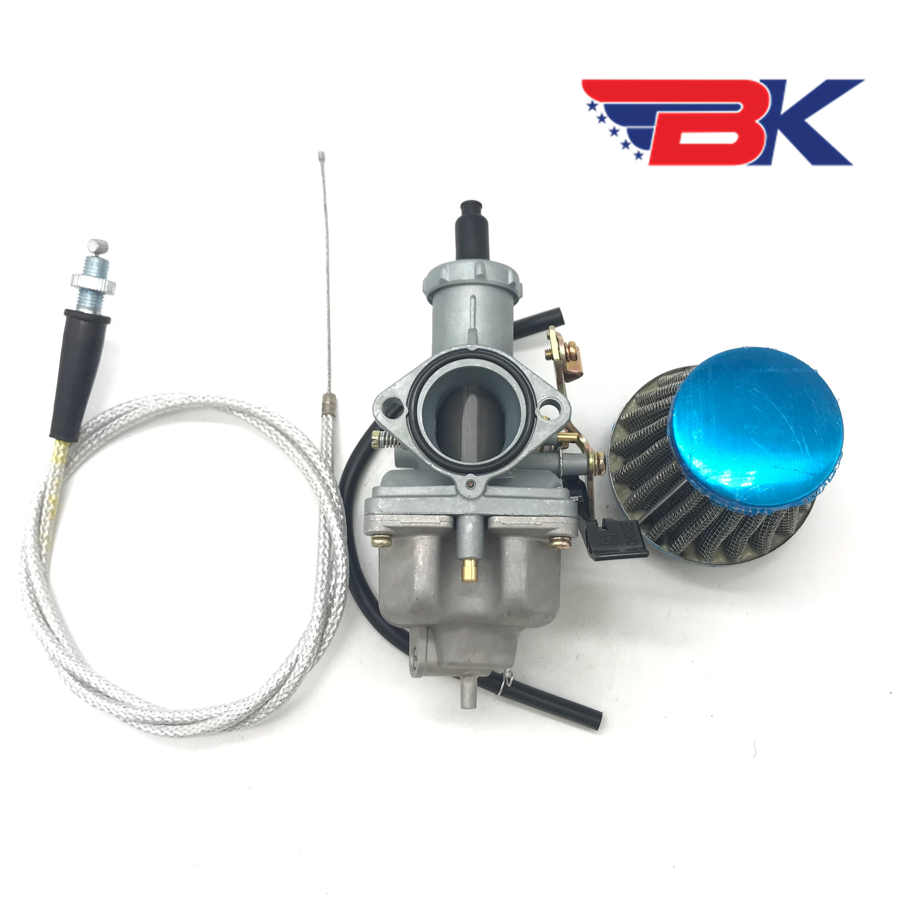 Carburetor W/ Air Filter Throttle Cable For Honda XR200 XR 200R XR200R PZ30 Dirt Bike Carb image