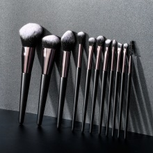Wholesale DHL 11pcs Eye Makeup Brushes Set Eye Shadow Lip Eyebrow Brushes High Quality Professional Lip Eyeliner Tools