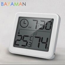 Monitor Environmental Child Digital Humidity-Meter LCD Testing Temperature Baby-Room