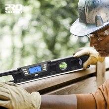 Kỹ Thuật Số Protractor Góc Tìm Có Nam Châm 360 Độ Inclinometer Điện Tử Tinh Thần Cấp Độ Dốc Thử Nghiệm Người Cai Trị Bởi Prostormer