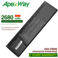 Apexway 11.1V 2680mAh Laptop Battery for Dell Latitude WD52H KWFFN J31N7 GVD76 HJ8KP NCVF0 0WD52H 0KWFFN PT1 12 7000 E7240