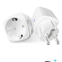 Power-Plug Outlet Socket Tuya Wifi Works Alexa App Smart Home Wireless 16A EU