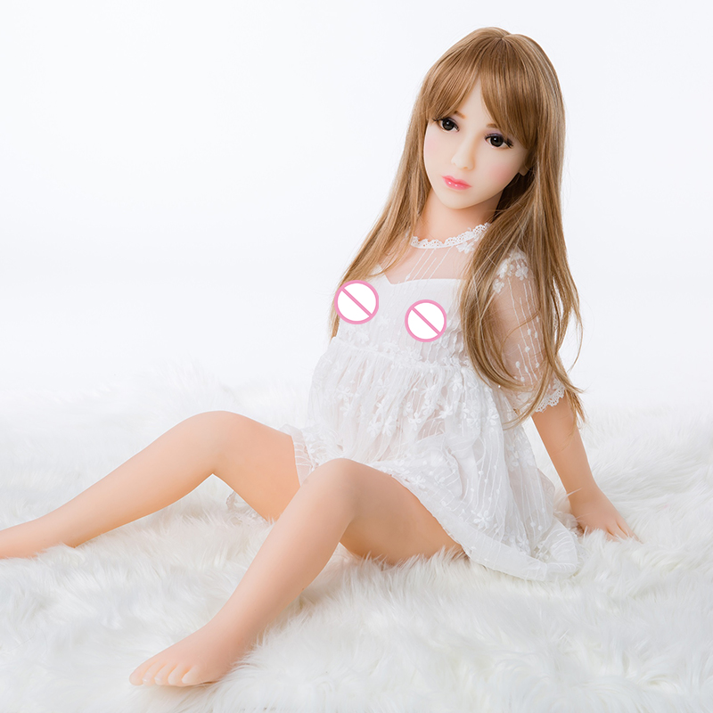 <font><b>100</b></font> <font><b>cm</b></font> Super Small Breast <font><b>Sex</b></font> <font><b>Doll</b></font> Realistic <font><b>Silicone</b></font> TPE Full Body Loli Small Butt Japanese <font><b>Sex</b></font> <font><b>Dolls</b></font> For Men Making Love image