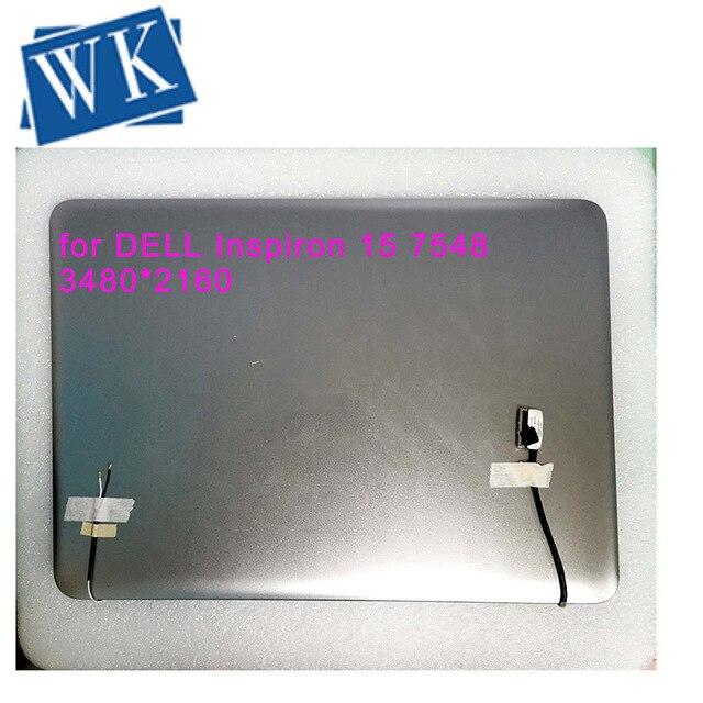 """15. 6 """"дюймовый сенсорный ЖК экран в сборе для DELL Inspiron 15 7548 4K 3840X2160 UHD LTN156FL01 экран дисплея"""