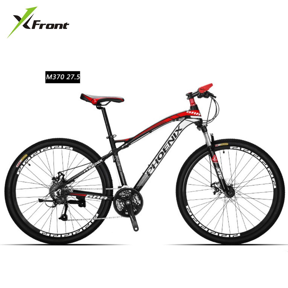New Brand Mountain <font><b>Bike</b></font> Aluminum Alloy Frame 27 Speed 26/27.5 Inch Wheel M370 Dual Disc Brake Outdoor Downhill Bicycle image