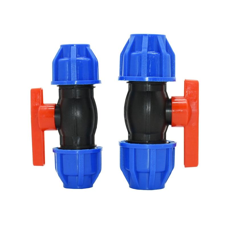 Válvula de bola DN15 DN20 Pvc Pe Ppr Válvula de control de flujo de agua 1/2