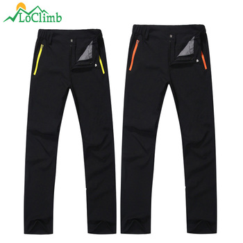 LoClimb Outdoor Hiking Pants Men/Women Summer Ultra Thin Quick Dry Trousers Men's Mountain Climbing/Camping/Trekking Pants AM377 new outdoor pants men women camping hiking mujer softshell pantalon hombre climbing camouflage thermal trekking hunting trousers
