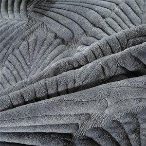 Image 5 - 豪華な綿キルトセット 3 個ヤシの葉刺繍キルトのベッドカバーベッドカバーシーツ枕カバーセットキングサイズ