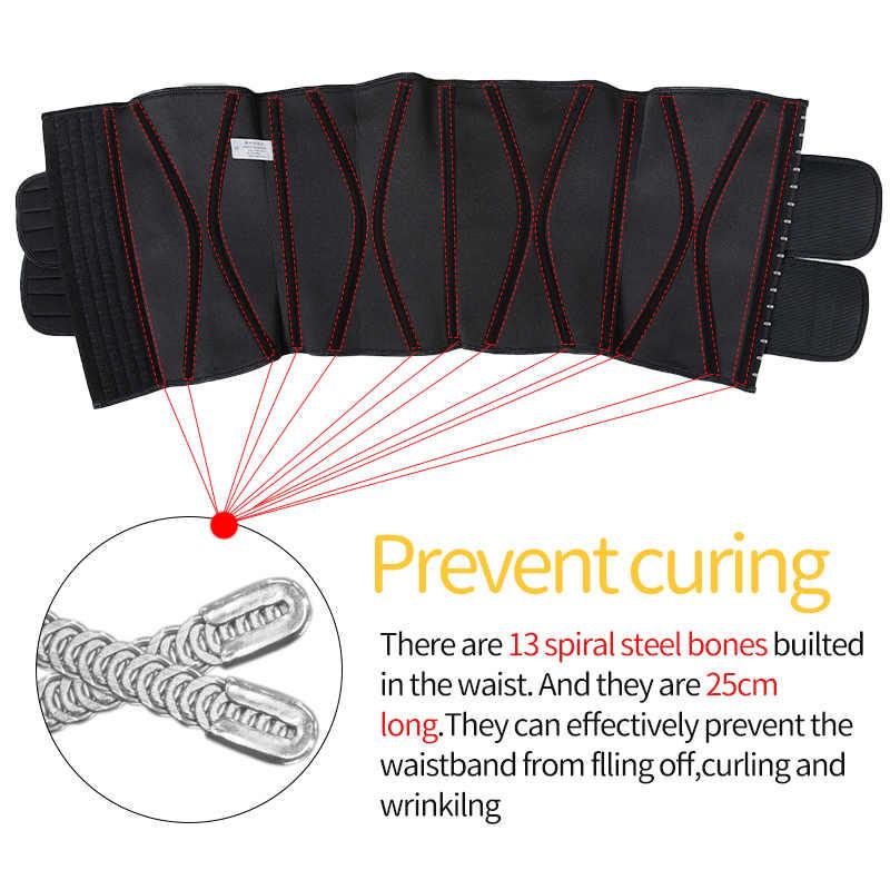 الرجال مدرب خصر البطن التخسيس محدد شكل الجسم البطن تخفيف الوزن ملابس داخلية البطن سليم النمذجة حزام حزام العرق المتقلب