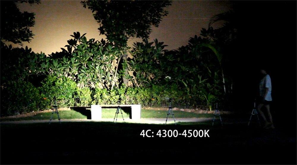 de alta potência, xhp70.2,, portátil, para acampamento, caça, luz noturna