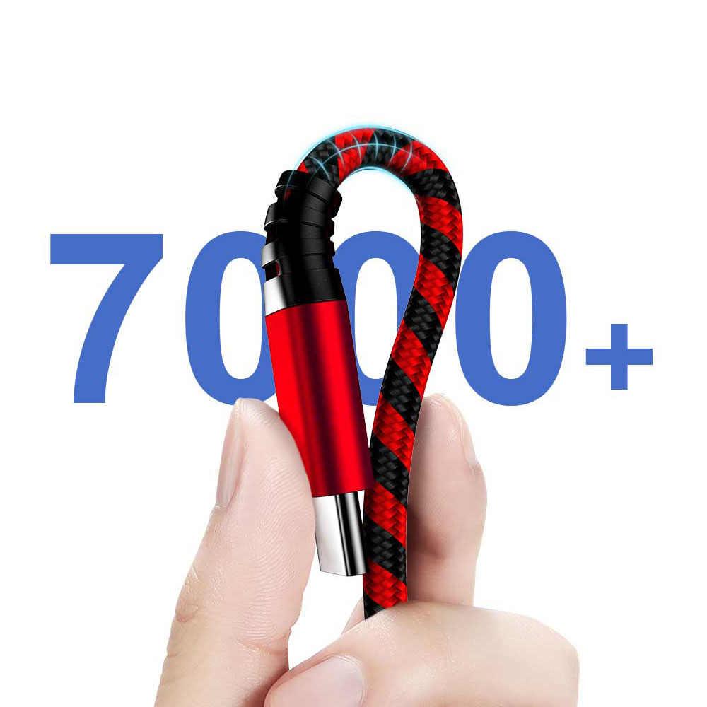 Musttrue 3.0A Cáp USB Type C Cho Samsung A70 A50 Loại-C Dây Nhanh Dây Sạc Cho Xiaomi Mi 9 SE cáp Sạc Điện Thoại USBC