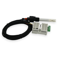 Taidacent Leitfähigkeit Sender EC Wert Erkennung EC Sensor TDS Sender RS485 4 20mA Online Wasser Qualität Überwachung auf