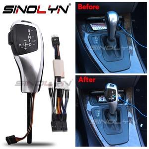 Image 1 - LED gałka zmiany biegów dźwignia zmiany biegów dla BMW 1 3 5 6 seria E90 E60 E46 2D 4D E39 E53 E92 E87 E93 E83 X3 E89 automatyczne akcesoria samochodowe
