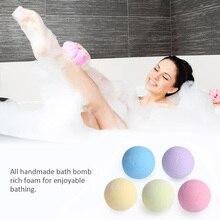 40g Handmade Bomb Baths Aromatherapy Relaxation Moisturizing Fizzies Spa Bomb Body Cleaner Bath Bomb Mold bubble Salt Ball bc