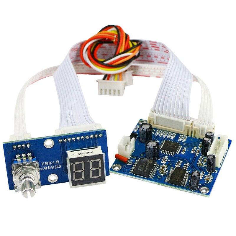 DSP Digital Reverberation Module Stereo Karaoke Reverberation Board DC 5V Karaok Mixer Effector Module 0-99 Effect