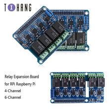 1PCS Raspberry Pi Power Relay Board Expansion Module Shield SHX55B031upports RPi A+/B+/2 B/3 B for Home Automation Intelligent